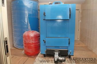 Дом 800 кв.м. Система отопления на двух топовых конденсационных котлах BUDERUS по 80 кВт и дублирующем твердотопливном котле Buderus 100 кВт — Барракуда - Современные системы отопления