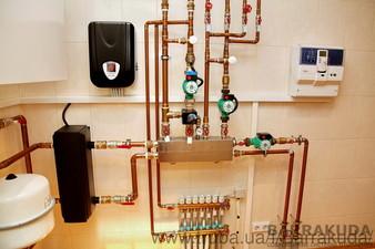 Дом 350 м.кв. Экономичная система отопления на конденсационном котле BUDERUS GB112 42кВт, водонагревателе 200л, — Барракуда - Современные системы отопления