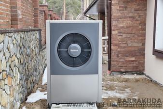 2017 год. Коттедж 300 кв.м. Гибридный тепловой насос нового поколения BUDERUS Logatherm WPL 17 ARB  (воздушный тепловой насос 17 кВт с газовым конденс — Барракуда - Современные системы отопления