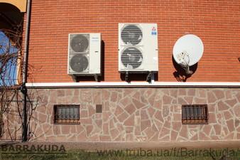 2016 год. Дом 300 кв.м. Модернизация системы отопления - установка воздушного теплового насоса 14 кВт и подключение к существующей системе отопления — Барракуда - Современные системы отопления