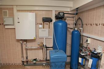2016 год. Дом 300 кв.м. Модернизация системы отопления - установка воздушного теплового насоса 14 кВт с технологией двухфазного впрыска — Барракуда - Современные системы отопления
