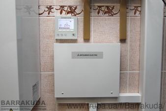2016 год. Дом 300 кв.м. Модернизация системы отопления - установка воздушного теплового насоса 14 кВт до температуры -11 с — Барракуда - Современные системы отопления