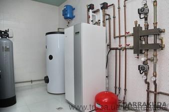2016 год. Дом 240 кв.м. Система отопления, на геотермальном тепловом насосе NIBE (Швеция) 12 кВт, с четырьмя геотермальными скважинами по 70 м. — Барракуда - Современные системы отопления