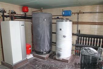 2016 год. Дом 260 кв.м. Экономичная система отопления, на геотермальном тепловом насосе NIBE (Швеция) 12 кВт, с 5 геотермальными скважинами по 55 метр — Барракуда - Современные системы отопления