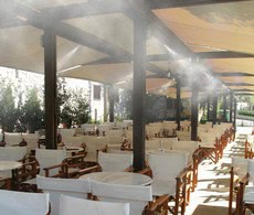 Система туманообразования - проектирование и монтаж