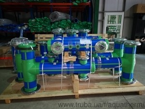 Готовые сборки распределительных блоков Aquatherm — АКВАТЕРМ-КИЕВ