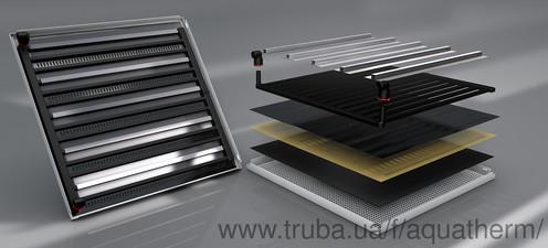 Aquatherm black system для охолодження і/або підігріву стель та стін — АКВАТЕРМ-КИЕВ