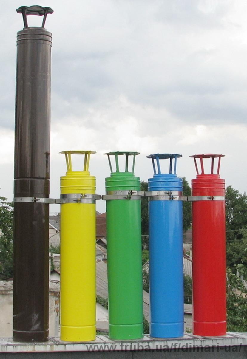 Дымоходы из цветной стали ооо век екатеринбург дымоходы