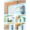 Поиск-определение-обнаружение закладки кабелей-проводов, труб в стенах
