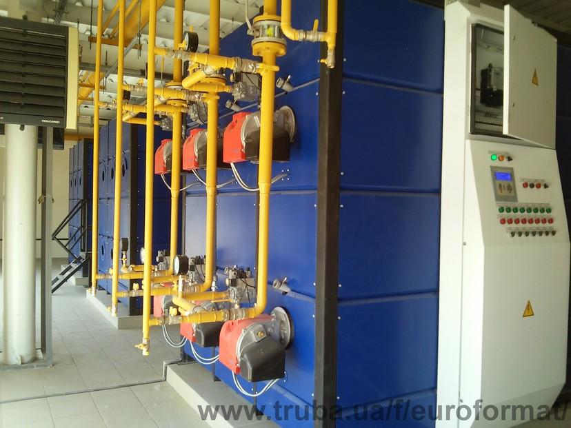 рекомендації по проектуванню димарів, вбудованих і прибудованих котельних установок, а також побутов