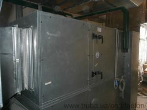 Монтаж системи припливно витяжної вентиляції ХНЕУ — Фаэтон