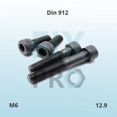DIN 912 Болт с цилиндрической головкой и внутренним шестигранник