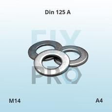 DIN 985 Гайка самоконтрящаяся шестигранная низкая
