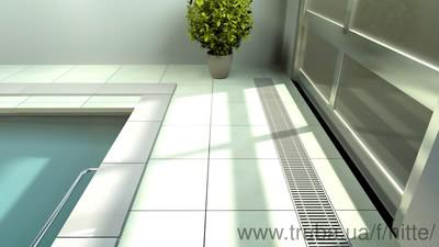 Внутрипольный конвектор Хитте для влажных помещений — Хитте