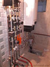 Монтаж топочных на базе газовых котлов — Инсталл Стар