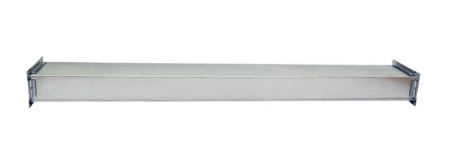 Прямоугольный воздуховод из оцин. стали 0,6мм Фланец Р-20