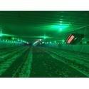 Отопление фермы инфракрасными брудерами SBM
