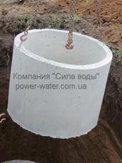 Монтаж железобетонных (жб) колец и крышки