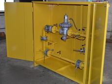 Шкафная газорегуляторная установка