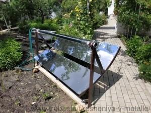 Солнечный коллектор-концентратор — Решения в металле