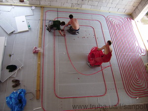 Тепла підлога — САНПОЛ