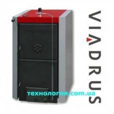Котел твердотопливный Viadrus Нercules U22 C/D (3 секции, 18кВт)