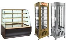 Кондитерские холодильные витрины и шкафы (барные). Рассрочка!