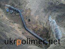 Трубы полиэтиленовые для подачи горючих газов