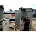 Установка дизельного генератора FOGO на объекте заказчика