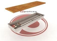 Внутрипольные конвекторы Polvax с вентилятором КV.PREMIUM.300.1000.120