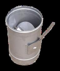 Регулятор тяги дымохода 160 мм