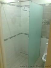 Стеклянная перегородка для душа, для ванной — Элкон-дизайн