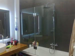 Шторки для ванной стеклянные — Элкон-дизайн