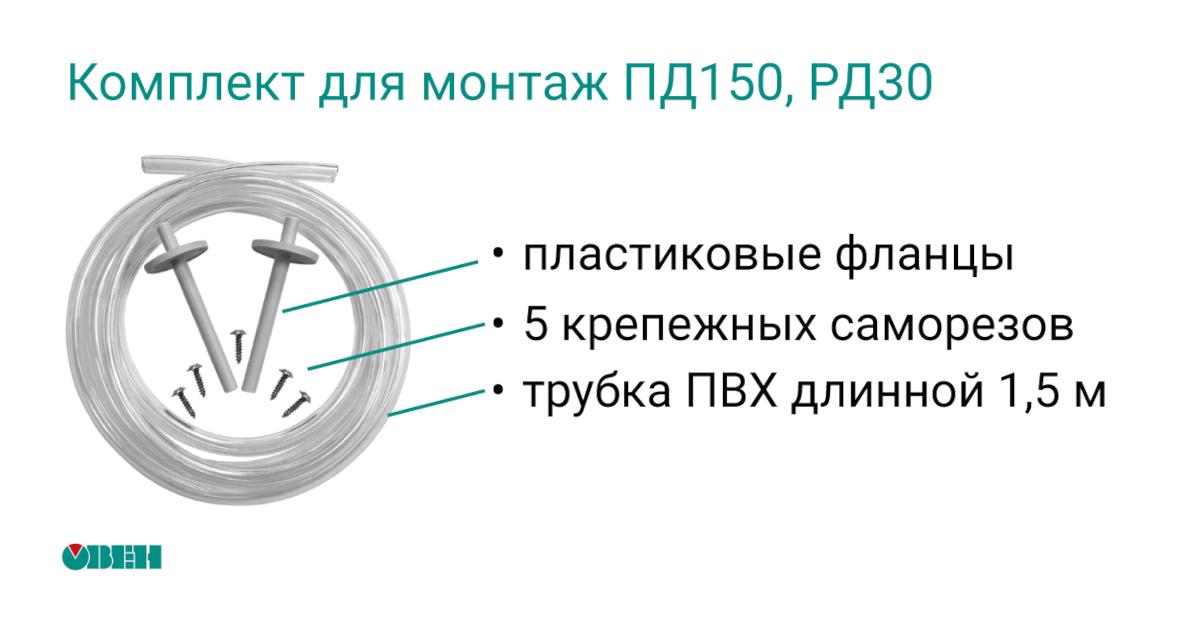 Комплект для монтажа ПД150, РД30