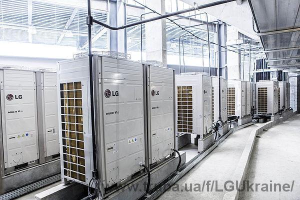 LG оборудовала Арену Байшада в Бразилии энергоэффективной системой кондиционирования