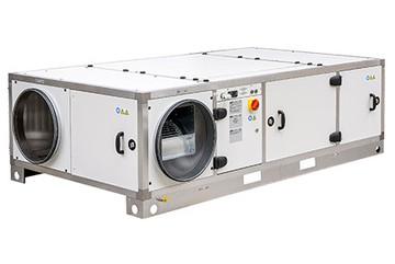Новинка: приточно-вытяжная установка с рекуперацией тепла и со встроенным модулем теплового насоса