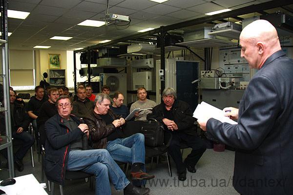 В апреле состоялся очередной семинар-практикум «Монтаж и пусконаладка мультизональных систем Dantex»