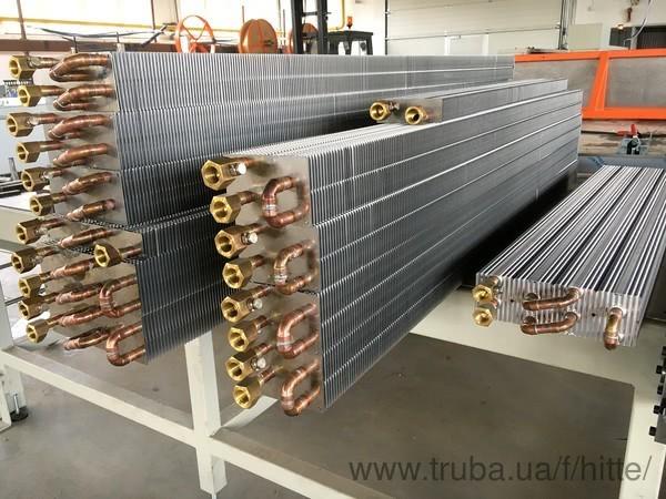 Запущено производство теплообменников Хитте (Чехия)