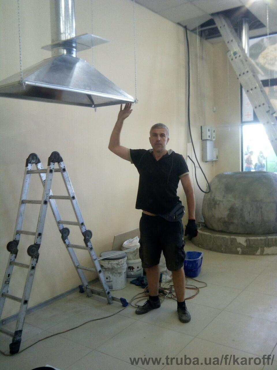 Завершен проект: монтаж вентиляции в магазине свежей выпечки