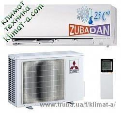 Новые кондиционеры Mitsubishi Electric с технологией Zubadan