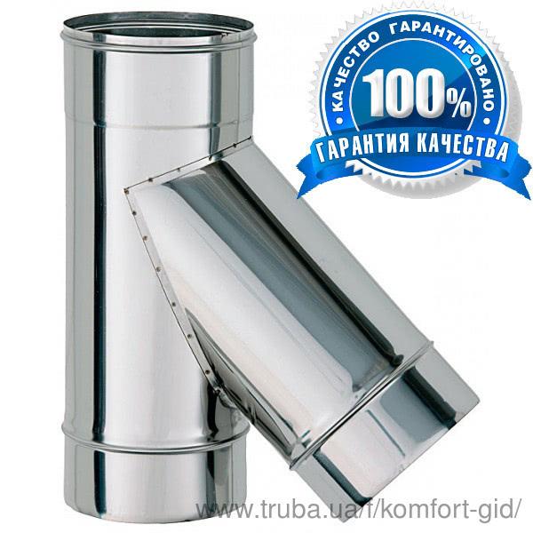 Тепер димохідні труби робляться з кращих марок нержавіючої сталі AISI 304, 321
