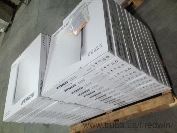 Обновлена упаковка керамических панелей Hybrid