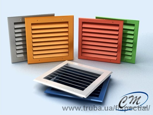 Производство вентиляционных решеток из алюминиевого профиля!