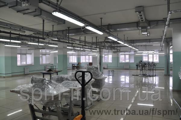 Вентиляция швейной фабрики