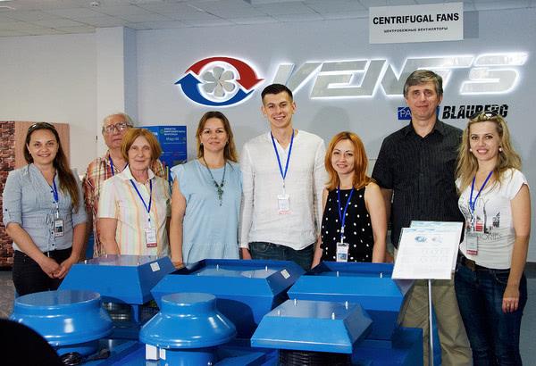 Компания «Вентс» провела экскурсию по заводу