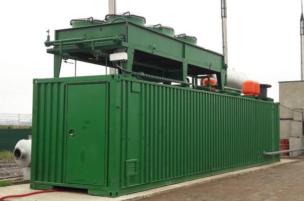 На Рівненському сміттєзвалищі запрацювала біогазова електростанція