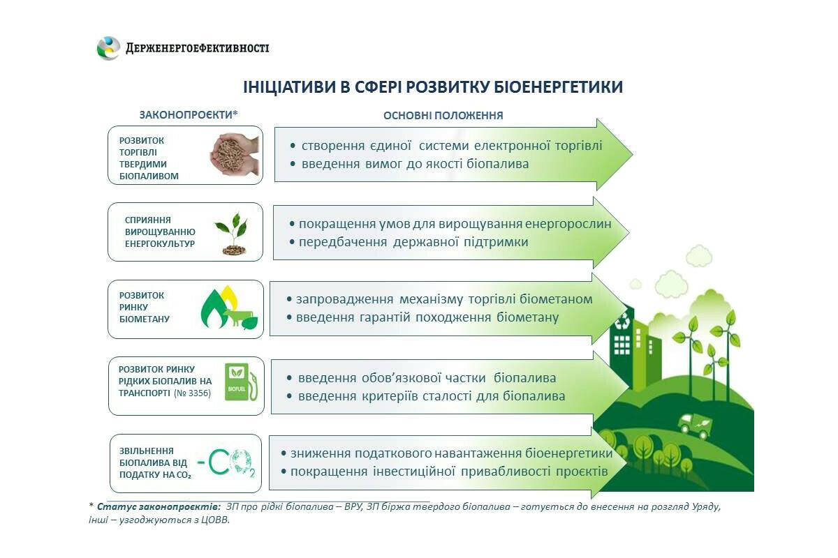 Госэнергоэффективности разрабатывает законы для рынка биоэнергетики