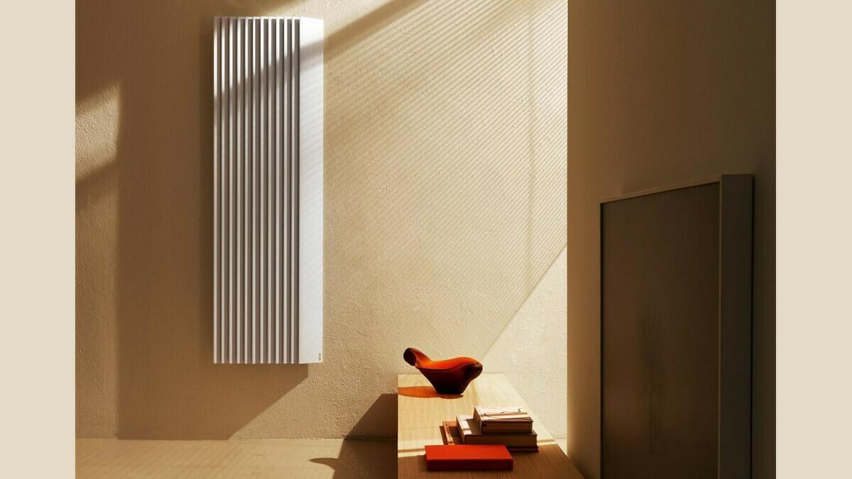 Итальянский дизайнер разработал радиатор как элемент декора
