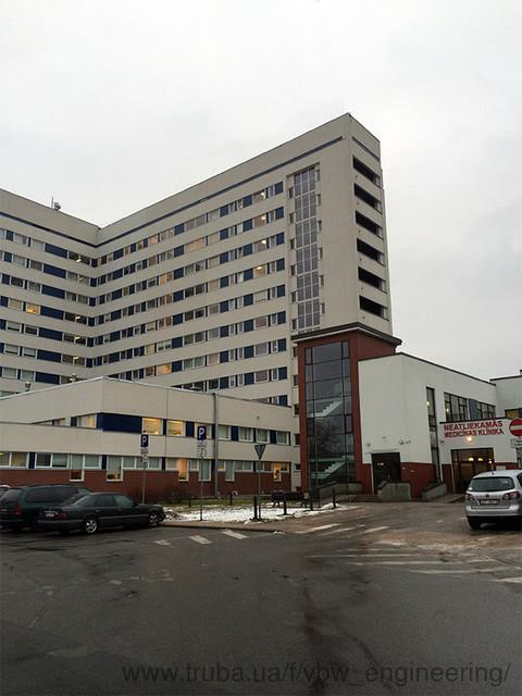 Модернизация университетской клинической больницы в Латвии прошла с установками VBW Engineering