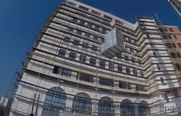 Реализация очередного проекта - административное здание телекоммуникационной компании Македонский Телеком в Скопье